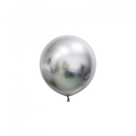 Krom Jumbo Balon Parlak 24  İNÇ  (3 Adet)