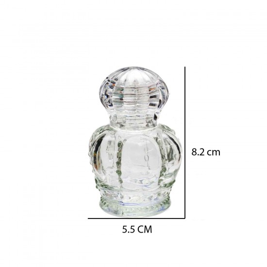 Saray Kapaklı  Küçük Cam Şişe 50 CC (10 Adet)